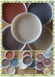Натуральный цветной песок для облицовки наружного камня