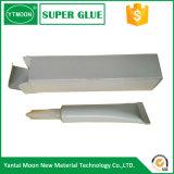 Pegamento medio negro del cianocrilato de la viscosidad para el metal de goma plástico