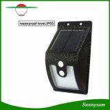 10 extérieurs légers solaires de DEL avec les lampes solaires de détecteur de mouvement 300 lumens d'imperméables à l'eau pour la lampe de garantie de jardin