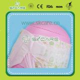 綿の大きい伸縮性があるウエストバンド及び多彩な背部シートが付いている通気性の赤ん坊のおむつ