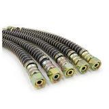 Manguito flexible de alta presión del freno del SAE J1402 de la pulgada de Yute el 1/2