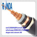 cabo elétrico de cobre isolado XLPE ao ar livre de 8.7KV 15KV