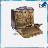 Buen equipaje de cuero del recorrido de la alta calidad