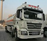 40 Kl Shacman 8X4 무거운 수용량 유조 트럭 트럭 40000 리터 연료 탱크