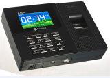 Registrador de tempo biométrico da impressão digital com software livre