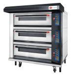 Équipement de boulangerie commerciale 3 plate-forme / four à plateau électrique avec chauffage par fil