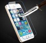 iPhone 5/5sのための専門の工場からの9h反指紋0.1mm/0.15mmの厚さの緩和されたガラスフィルム