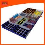 7108A de binnen het Springen van de Trampoline Apparatuur van de Trampoline van de Jonge geitjes van de Trampoline