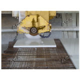 El puente vio (HQ400/600/700) al lado del laser para el corte de mármol de la losa del granito