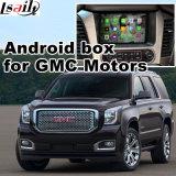 Interface vidéo de navigation GPS Android pour Gmc Yukon Sierra Canyon Terrain etc