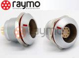 0k 1k 2k 3k imperméabilisent le connecteur circulaire en métal sous-marin de l'appareil-photo IP68