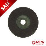 4インチのステンレス鋼をポーランド語ための研摩の適用範囲が広い粉砕車輪