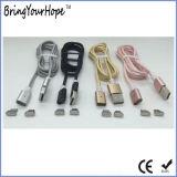 Cable de carga magnético del USB de la trenza