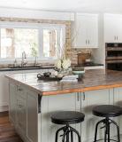 Armadi da cucina di legno europei della lacca di qualità eccellente