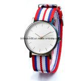 販売のための昇進の超薄いステンレス鋼の腕時計の人