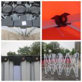 10X10FT Stahl kundenspezifisches Drucken-abnehmbares bewegliches Pagode-Zelt