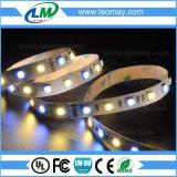 El doble colorea las tiras ajustables de Epistar SMD 5050 CCT Adustable LED