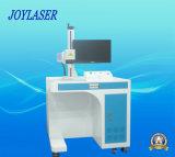 Máquina de la marca del laser de la fibra para el material plástico, PVC, PC, ABS