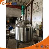 Lectric/el tanque de mezcla líquido químico del acero inoxidable de la calefacción de vapor con el mezclador