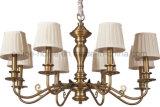 De Lamp van de Tegenhanger van het Ijzer van de goede Kwaliteit met de Decoratie van het Koper (sl2085-6)