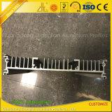La coutume a anodisé le radiateur en aluminium industriel expulsé d'extrusion