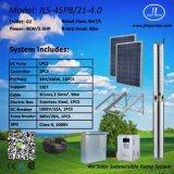 насосная система 4inch 4kw солнечная, насос погружающийся, насосная система земледелия