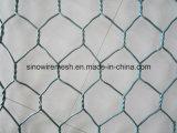 Плетение провода PVC Coated шестиугольное с низкоуглеродистой сталью