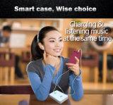 Caixa esperta do telefone móvel da proteção da venda quente com fone de ouvido Jack de 3.5mm e relação da carga do relâmpago para o iPhone 7 do iPhone 7/positivo