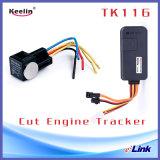 Работа отслежывателя автомобиля GPS с GSM/GPRS/GPS (TK116)