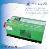 fora do inversor da célula solar da grade com carregador 48V/96V 6000W