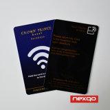 Carte chaude de plastique de PVC d'estampille de couleur bon marché de Cmyk (or/argent/rouge)