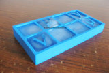 食品安全性の等級の頑丈なアルファベットの文字の形のシリコーンの氷メーカー、シリコーンの角氷の皿