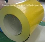 La couleur a enduit la bobine enduite d'une première couche de peinture par Ral en aluminium d'acier inoxydable de Galvalume de bobine