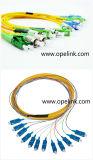De Bundel Patchcord PVC/LSZH Piatail van de Kabel van de optische Vezel