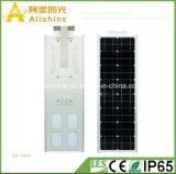 Nuevo 60W 5 años de la garantía de la instalación de Itegrated LED de la lámpara del jardín de luz solar simple del camino