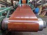 Blatt hölzerne des Muster-Farben-überzogenes Stahl-PPGI/PPGL in Ring 0.2-2.0mm*600-1250mm