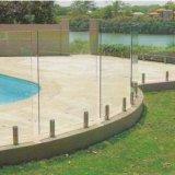 De Spon van het roestvrij staal voor de Omheining van het Zwembad Frameless