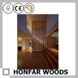 Divisor preto moderno da madeira do quarto