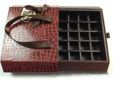 Fabrik passen Papiergeschenk-Verpackungs-Schokoladen-Kasten an