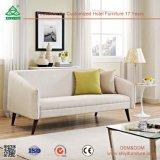 Simples Conjunto de sofá de couro confortável e agradável para sala de estar, design ergonômico Design de conjunto de sofá de madeira