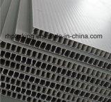 hoja del plástico Sheet/PP de 550*1100m m/fabricante huecos acanalados 2-10m m multiusos de la hoja de Correx