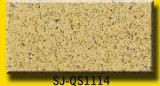 Plica 패턴을%s 가진 베이지색 석영 돌