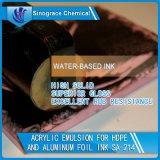 Emulsão acrílica para a água - tinta baseada