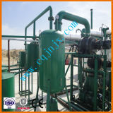 Petróleo de motor usado destilaria do petróleo Waste que recicl a máquina de descoramento preta do petróleo