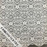 幾何学的設計の綿かナイロンレースファブリック