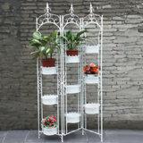 ホーム装飾のための熱い販売の金属の鉄の花プランター