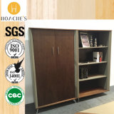 Bookrack Two-Door alla moda moderno con il cassetto (C28)