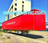 40 dos Tri-Eixos do PVC toneladas de reboque da cortina