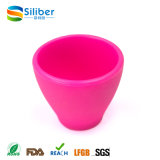 Copo de chá feito sob encomenda do silicone do produto comestível da cor para a venda