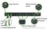 Interruptor automático industrial de transferência de Msts-25A 120VAC para a fonte de alimentação dobro